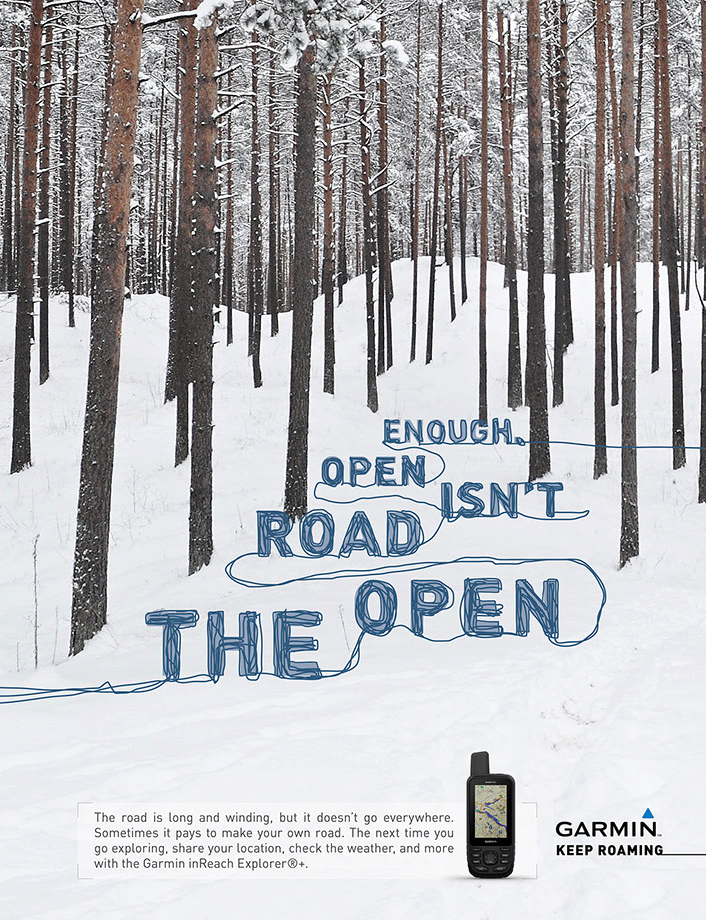 The open road isn't open enough.